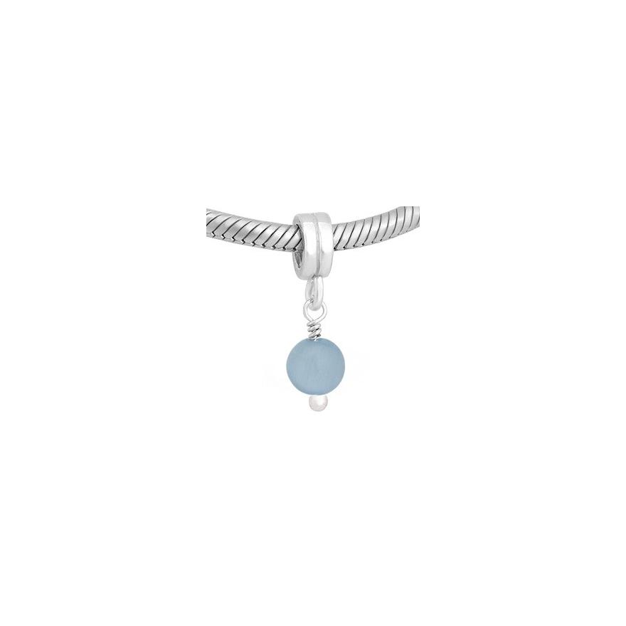 talla 40 41092 620f8 Colgante piedra azul