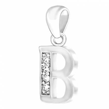 """""""B"""" Letra de plata CL05"""