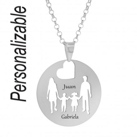 Collar personalizable familia