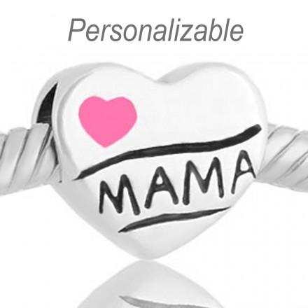 Corazon Te quiero mama rosa