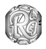 Letra R Corazones