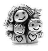 Abalorio mama con niños